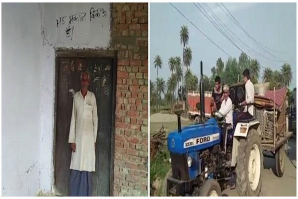 exodus of hindus three families from garabpur in bijnor