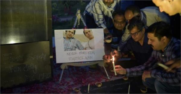 journalists killed in afghanistan remembered world press on independence day
