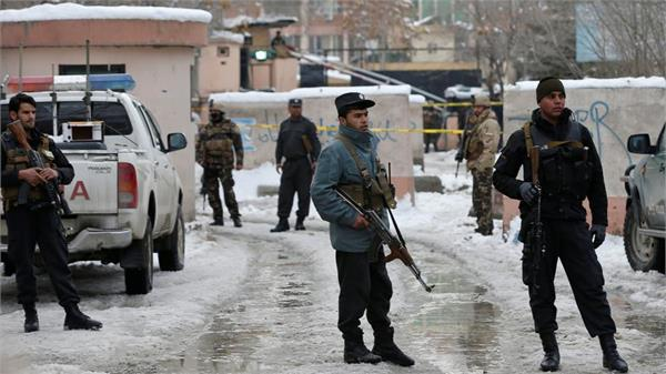 afghanistan suicide car bomb attack kills 2 policemen