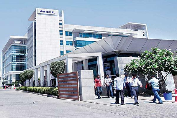 hcl tech shares fall 5 on weak q4 numbers