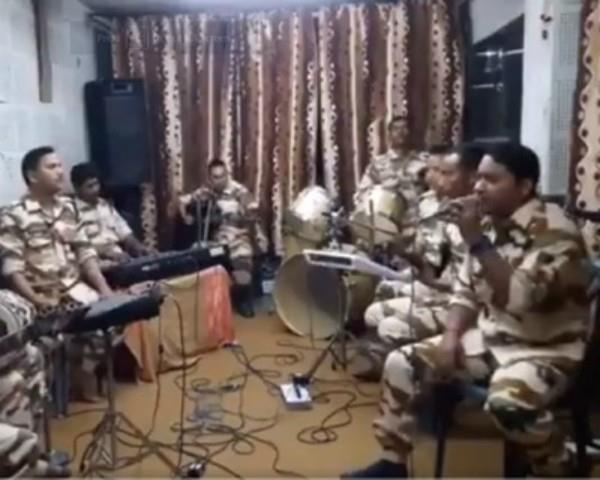 itbp jawan sings song