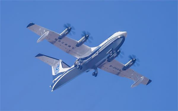 china aiming to deliver world s largest amphibious aircraft by 2022
