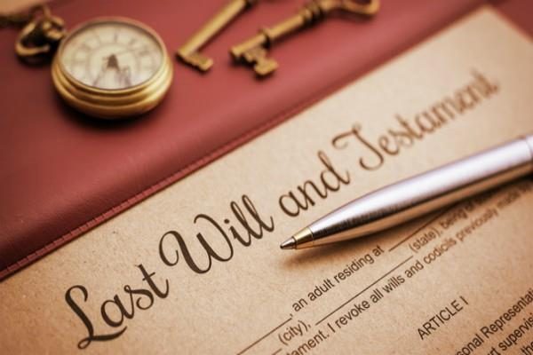 do not make mistakes in writing the will