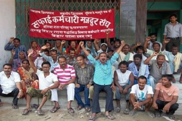 indefinite strike launched by clean workers across the state