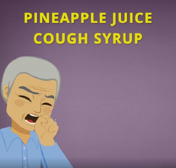 pineapple juice cough syrup