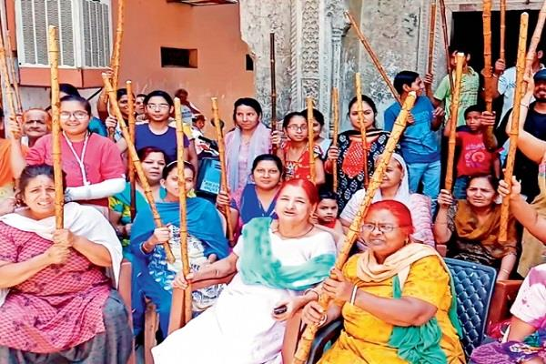 ladies organization made in sonipat for tackling flirting