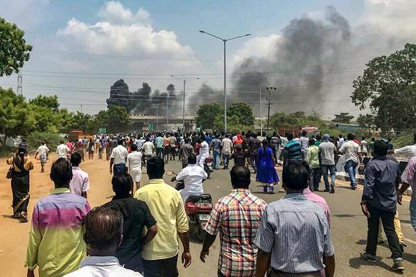 high court stay construction of a sterlite company