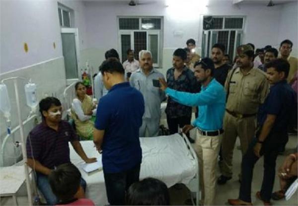 district panchayat member shot dead in lakhimpuri kheri