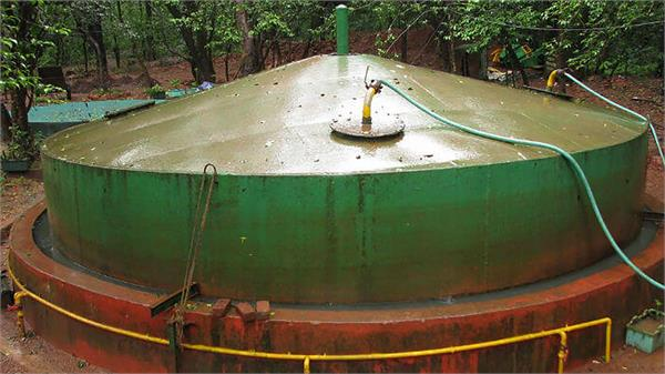 government will give grant for setting up biogas plant