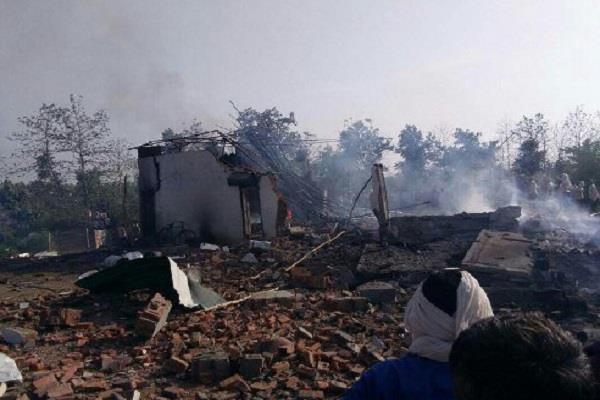explosion in amritsar s cracker factory 1 killed