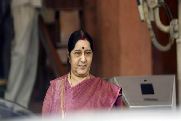 sushma came forward to help indian entrapped in nepal