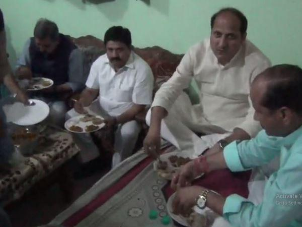 suresh rana dine at dalit house ut ate restaurant food