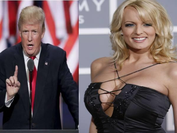 donald trump stranded in a new trouble now porn star sued for defamation