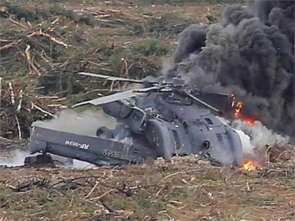 two pilots dead after russian military helicopter crashes in syria