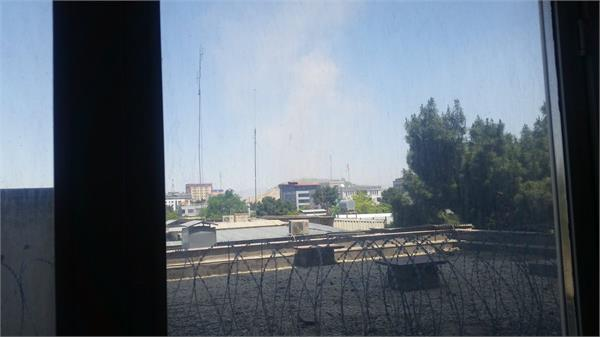conflicts between serial blasts security forces and gunmen in kabul continue