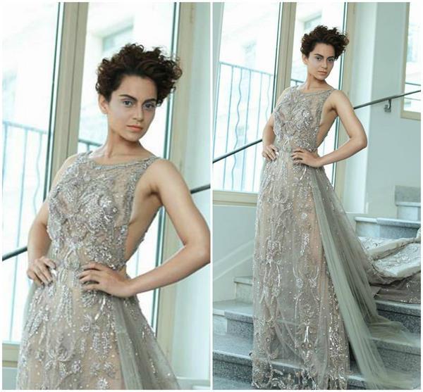 Cannes 2018: पहली ही अपीयरेंस में कंगना ने दिखाया अपना Hot and Bold Look