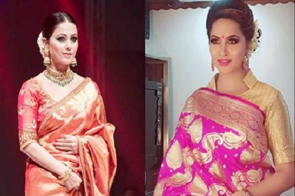 arshi khan new look is viral fan says copying hina khan