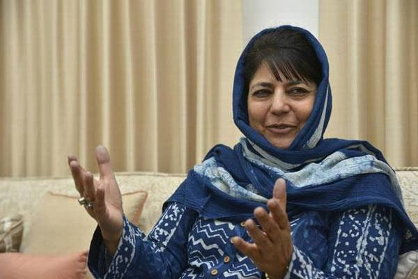 violence can not solve the problem mehbooba