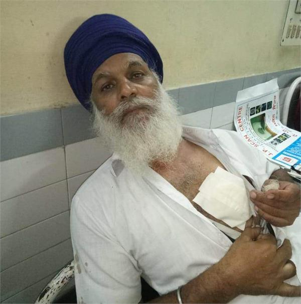 attack on amritdhari old man