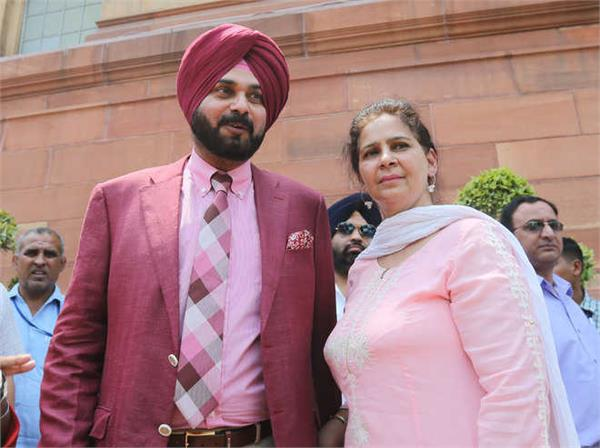 navjot kaur sidhu and son rejected government post after opposition attack
