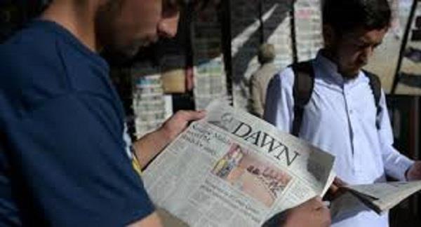 pak authorities block distribution of oldest english daily dawn