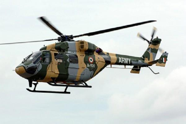air force cheetah chopper crashes in jammu and kashmir