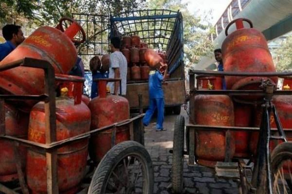 relief to the general public cooking gas cylinders cheaper