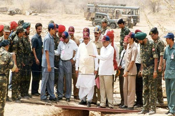 20 years ago vajpayee had done pokhran test