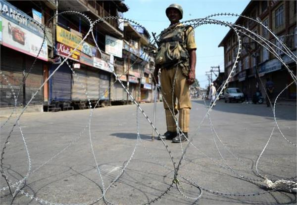hartaal in kashmir on third consecutive day