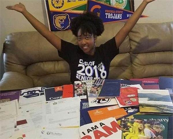 jasmine harrison accepted into 113 colleges awarded 4 5m in merit