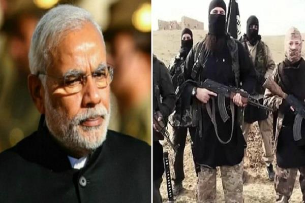 pm modi in target of is