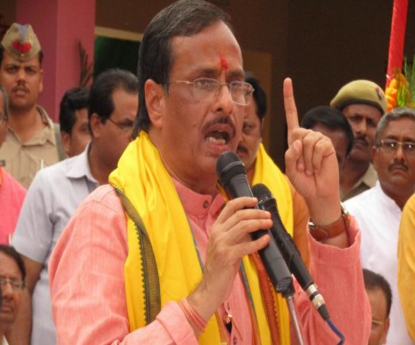 cm yogi does not have any caste of a saint and saints dinesh sharma