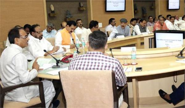 shivraj sarkar da increase in cabinet meeting
