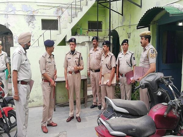 dgp mardi conducted inspection by the police station