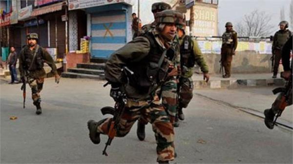 gernade attack at army camp kulgam
