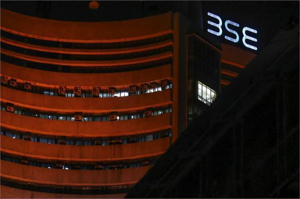 sensex up 8 points and nifty closes at 10718