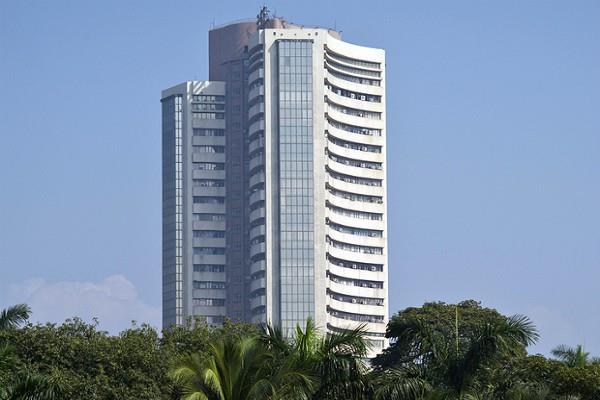 sensex up 21 points and nifty closes at 10806