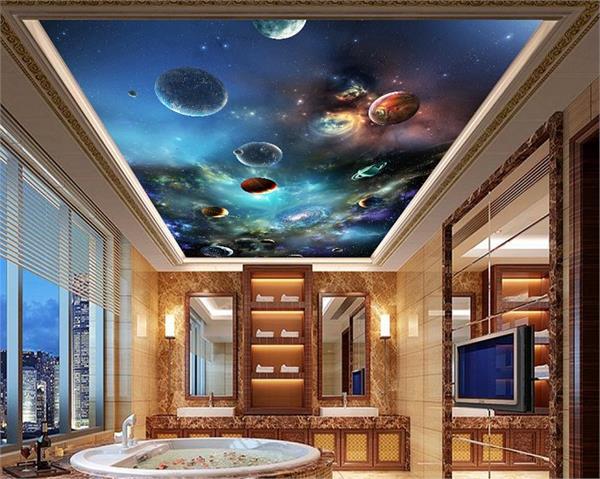 घर की छत को ड्रिमी लुक देंगे ये 3D Wallpapers