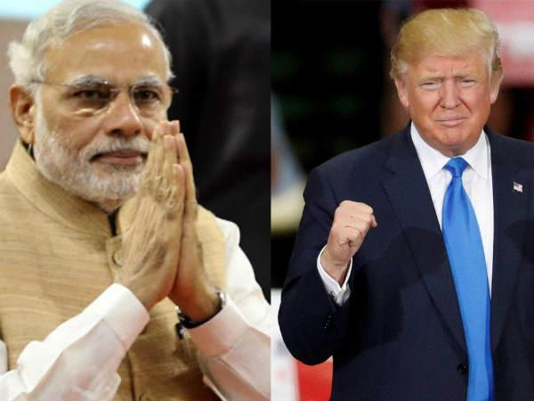modi twice as popular on facebook as donald trump study