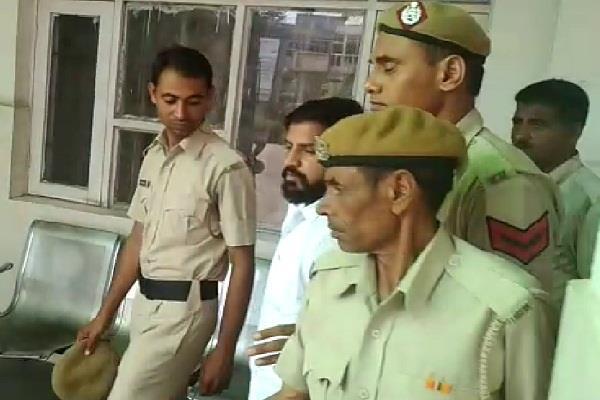 prisoner beating magistrate medical