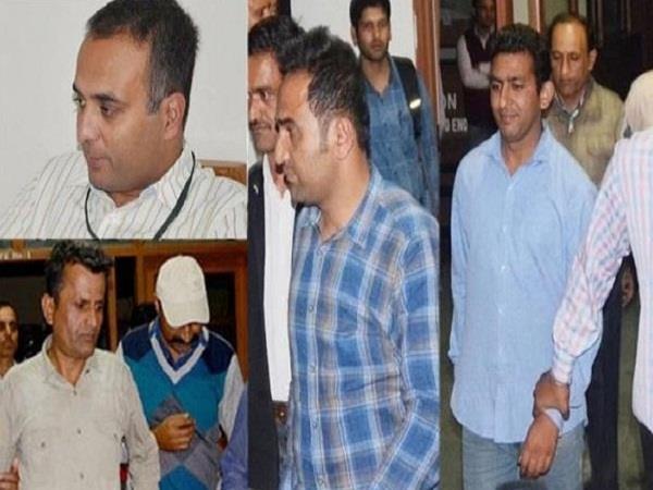 judicial custody of 9 police officers including ig jadi increased till may 8