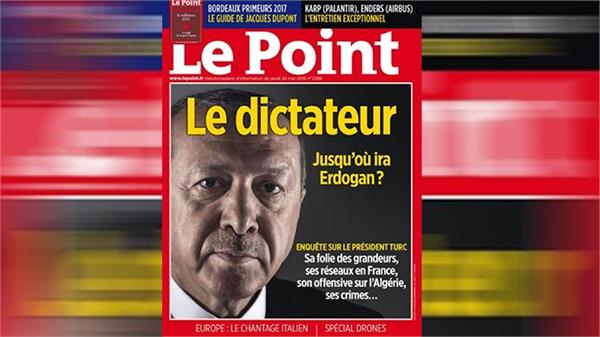erdogan backers target french weekly over  dictator  cover