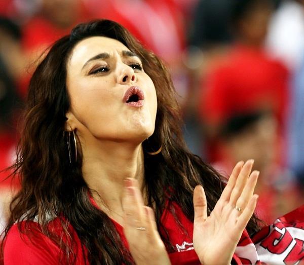 preity zinta is that her team is not going in ipl