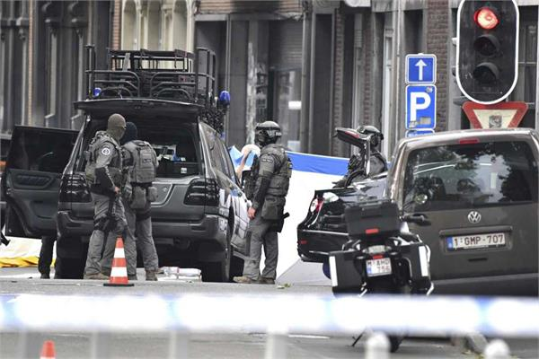 two police officers and 2 civilian dead in belgium liege shooting