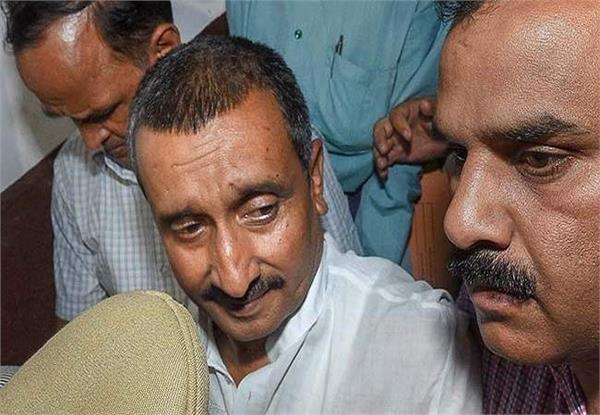 unnam rape case kuldeep singh sengar appearing in court