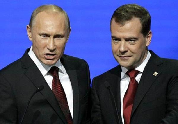 putin proposes medvedev for russian pm