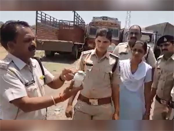 police takes practice for farmer s protest in mandsaur