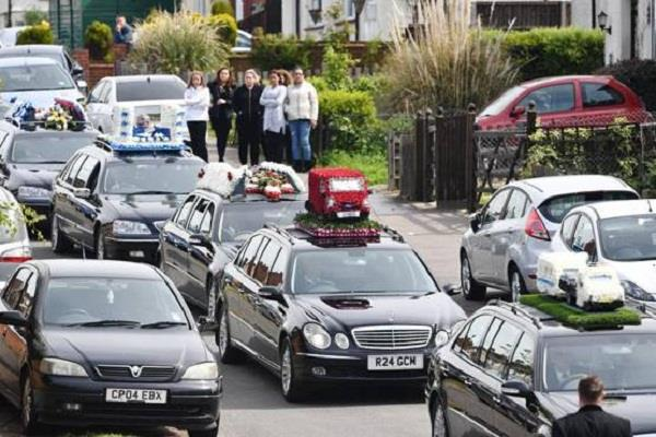 most wanted henry vincent funeral made people surprised