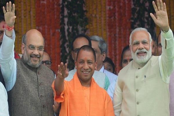 narendra modi bjp yogi adityanath trinamool congress nitish kumar