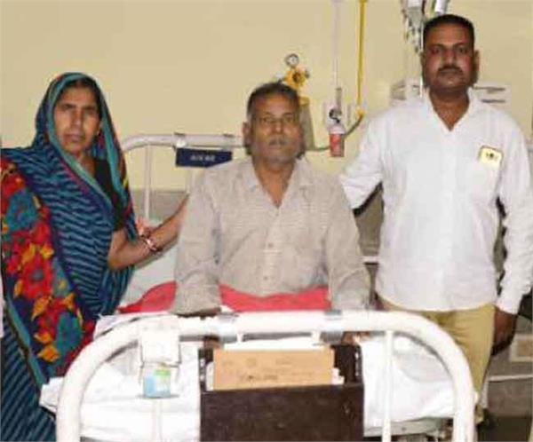 a man with extremely rare bombay blood group found in ludhiana